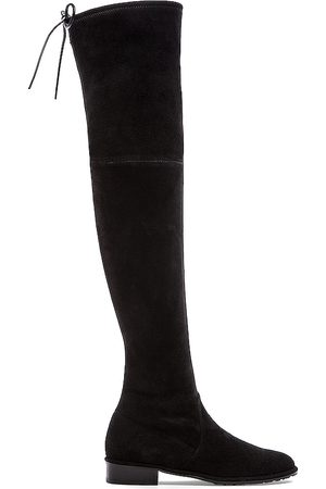 Stuart Weitzman Lowland Boot in - Black. Size 6 (also in 6.5, 7, 7.5, 8, 8.5, 9).