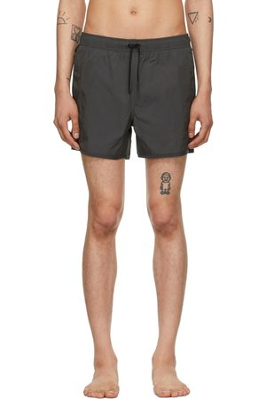 CDLP Grey Taffeta Swim Trunks