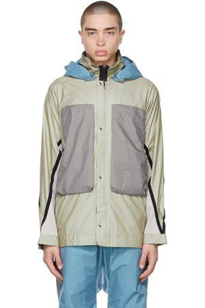 BYBORRE Uomo Giacche - Beige & Grey Field Jacket