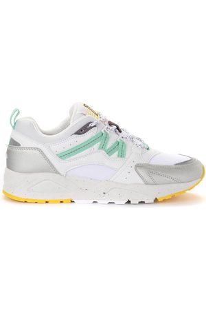 Karhu Donna Sneakers - Sneaker Fusion 2.0 in pelle e tessuto bianco e