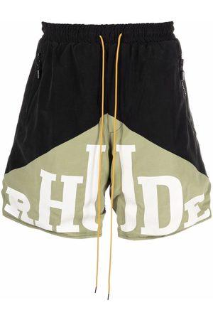 Rhude Shorts sportivi con stampa