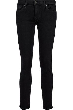 7 for all Mankind Donna Slim & Sigaretta - Jeans Pyper Slim Illusion vita media