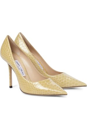 Jimmy Choo Donna A spillo - Pumps Love 100 in pelle stampata