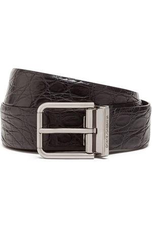 Dolce & Gabbana Uomo Cinture - Cintura con fibbia quadrata