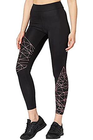 AURIQUE Donna Leggings sportivi - Marchio Amazon - Leggings Sportivi con Stampa Optic Donna, , 48, Label:XL