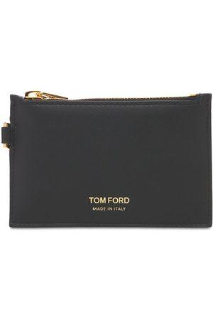 Tom Ford Uomo Portafogli e portamonete - Portafoglio Piccolo Con Zip E Cinturino