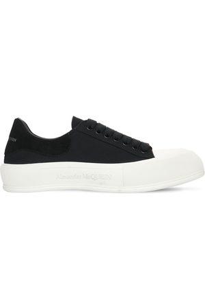 Alexander McQueen Sneakers Basse In Tela