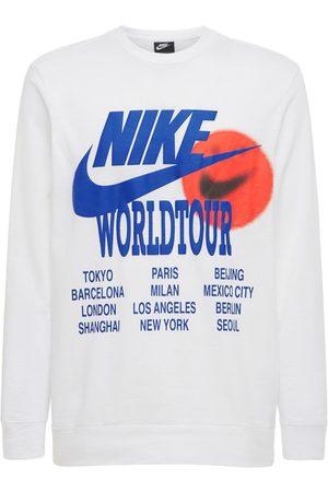 "Nike T-shirt ""world Tour"" Con Stampa"