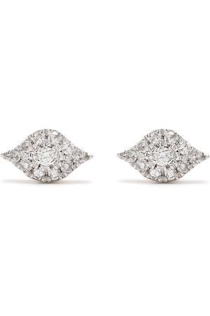 DJULA Uomo Orecchini - Orecchini Eyes in oro 18kt con diamanti