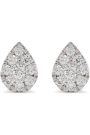 Djula Uomo Orecchini - Orecchini Pear in 18kt con diamanti