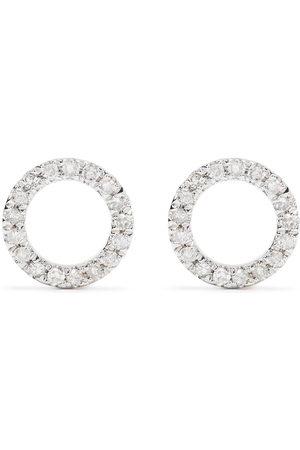 Djula Uomo Orecchini - Orecchini Circle in 18kt con diamanti