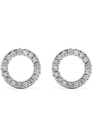 DJULA Orecchini Circle in oro 18kt con diamanti