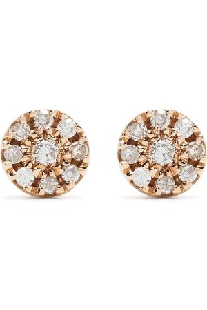 DJULA Uomo Orecchini - Orecchini Target in oro 18kt con diamanti