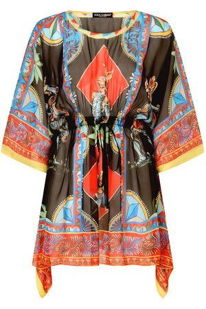Dolce & Gabbana Donna Abbigliamento da mare - Copricostume con stampa
