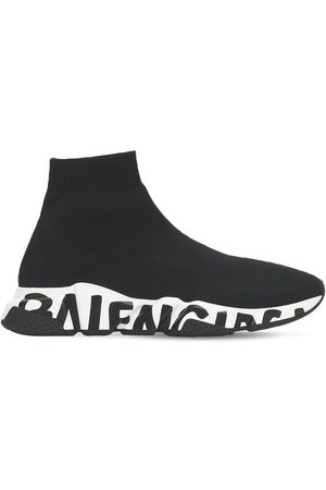 """Balenciaga Sneakers """"speed Graffiti"""" In Maglia 30mm"""