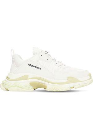 "Balenciaga Sneakers ""triple S"" In Camoscio, Pelle E Rete"