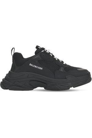 Balenciaga Sneakers Triple S In Techno E Camoscio