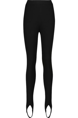 Tom Ford Leggings in misto cashmere con staffe
