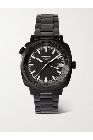 Bamford Uomo Orologi - GMT Automatic 40mm Stainless Steel Watch