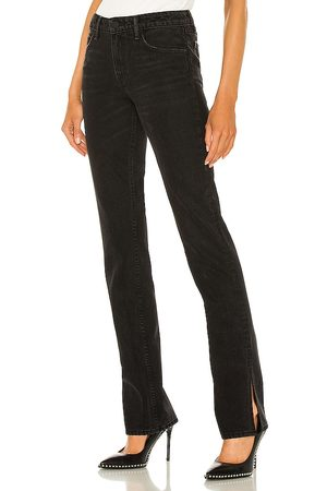 GRLFRND Hailey Low Rise Slim Boot in - Black. Size 23 (also in 26, 24, 25, 27, 28, 29, 30).