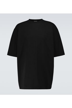 Balenciaga T-shirt Hotel in cotone