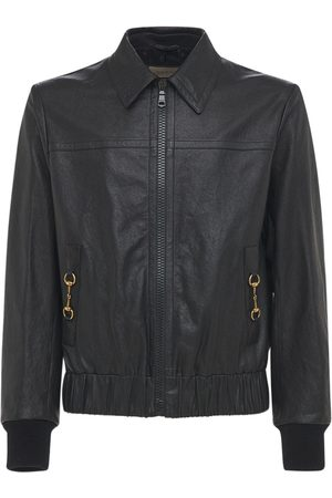 Gucci Bomber In Pelle