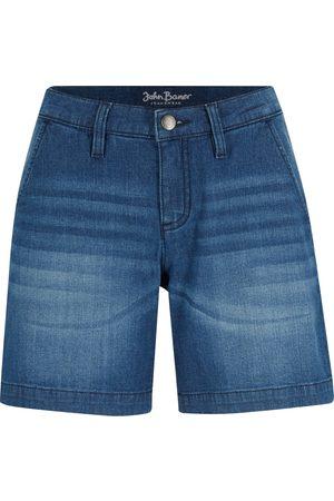 John Baner Donna Pantaloncini - Shorts di jeans chino