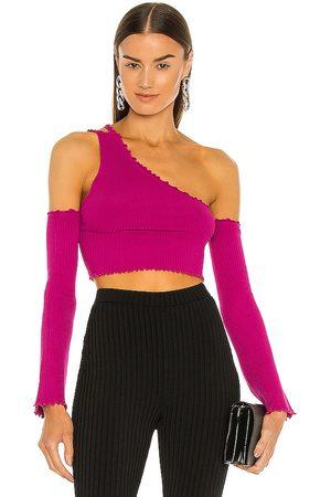 h:ours Juniper Sweater in - Purple. Size L (also in XS, S, M, XL).