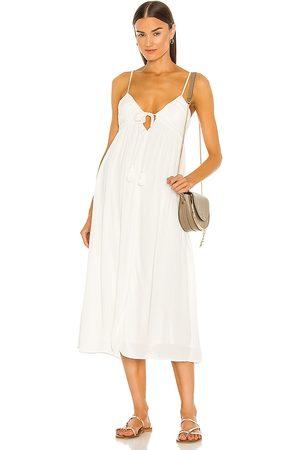 MAJORELLE Kiara Midi Dress in - . Size L (also in XXS, XS, S, M, XL).