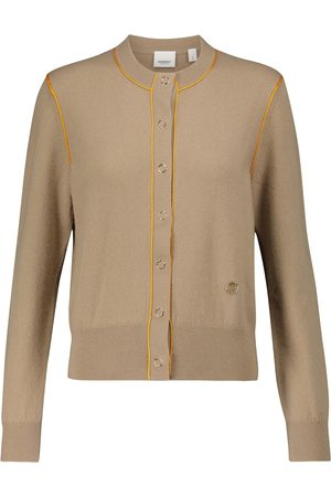 Burberry Donna Cardigan - Cardigan in cashmere