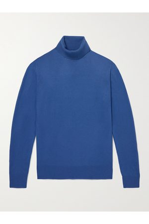 Loro Piana Dolcevita Slim-Fit Baby Cashmere Rollneck Sweater