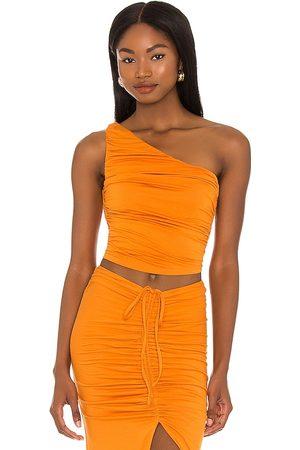 House of Harlow X Sofia Richie Sunnie Top in - Burnt Orange. Size L (also in XXS, XS, S, M, XL).