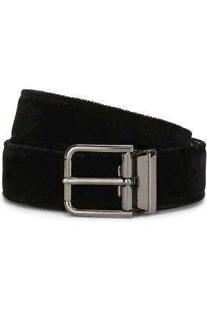 Dolce & Gabbana Uomo Cinture - Cintura con fibbia logo
