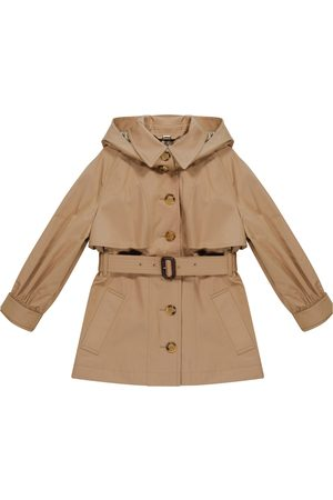 Burberry Trench in twill di cotone con cappuccio
