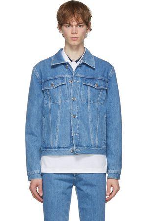 Burberry Blue Denim Satchwell Jacket