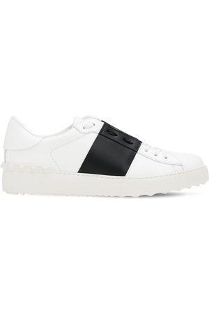 "VALENTINO GARAVANI Donna Sneakers - Sneakers ""open"" In Pelle 20mm"