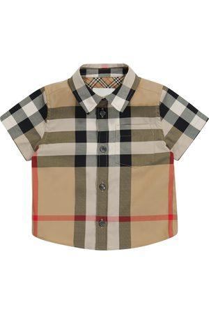 Burberry Baby - Camicia a quadri in cotone