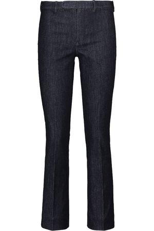 Max Mara Jeans slim Denimp a vita media
