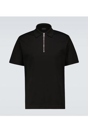 Givenchy Polo in cotone con zip