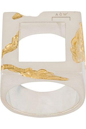 A-cold-wall* Uomo Anelli - Anello con dettagli in oro