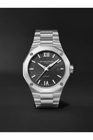 Baume & Mercier Uomo Orologi - Riviera Automatic 42mm Stainless Steel Watch, Ref. No. M0A10621