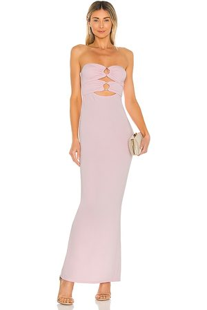 Michael Costello X REVOLVE Rylee Maxi Dress in - Pink. Size L (also in XXS, XS, S, M, XL).