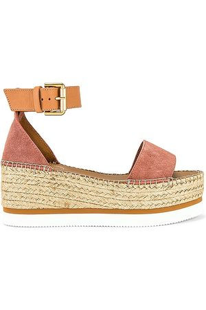 See by Chloé Glyn Platform Sandal in - Rose. Size 35 (also in 37, 38, 39, 36, 40, 41).