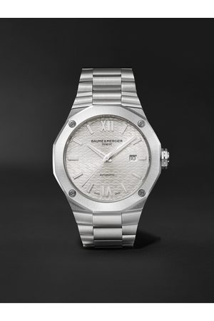 Baume & Mercier Riviera Automatic 42mm Stainless Steel Watch, Ref. No. M0A10622