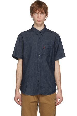 Levi's Uomo Denim - Indigo Hemp Sunset Short Sleeve Shirt