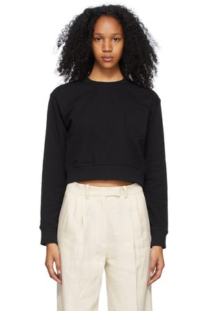 Fendi Black Trompe L'oeil Sweatshirt