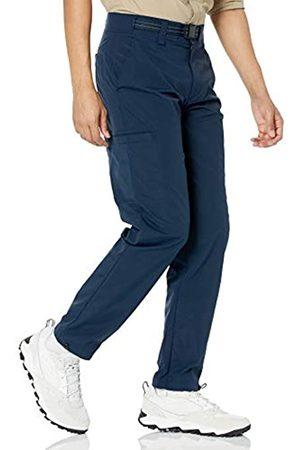 Amazon Pantaloni da Trekking con Cintura, Marino, 42W / 29L