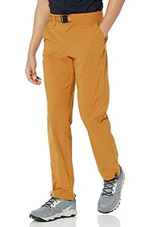 Amazon Pantaloni sportivi - Pantaloni da Trekking con Cintura, Noce Moscata, 34W / 28L