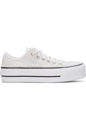 Converse Donna Trainers - Breathable Platform All Star Low Sneakers