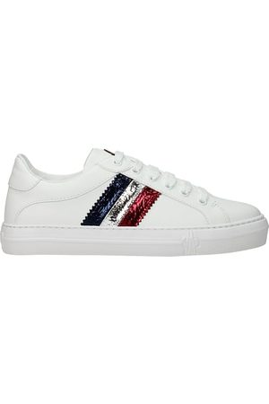Moncler Donna Sneakers - Sneakers ariel Donna Pelle Blu